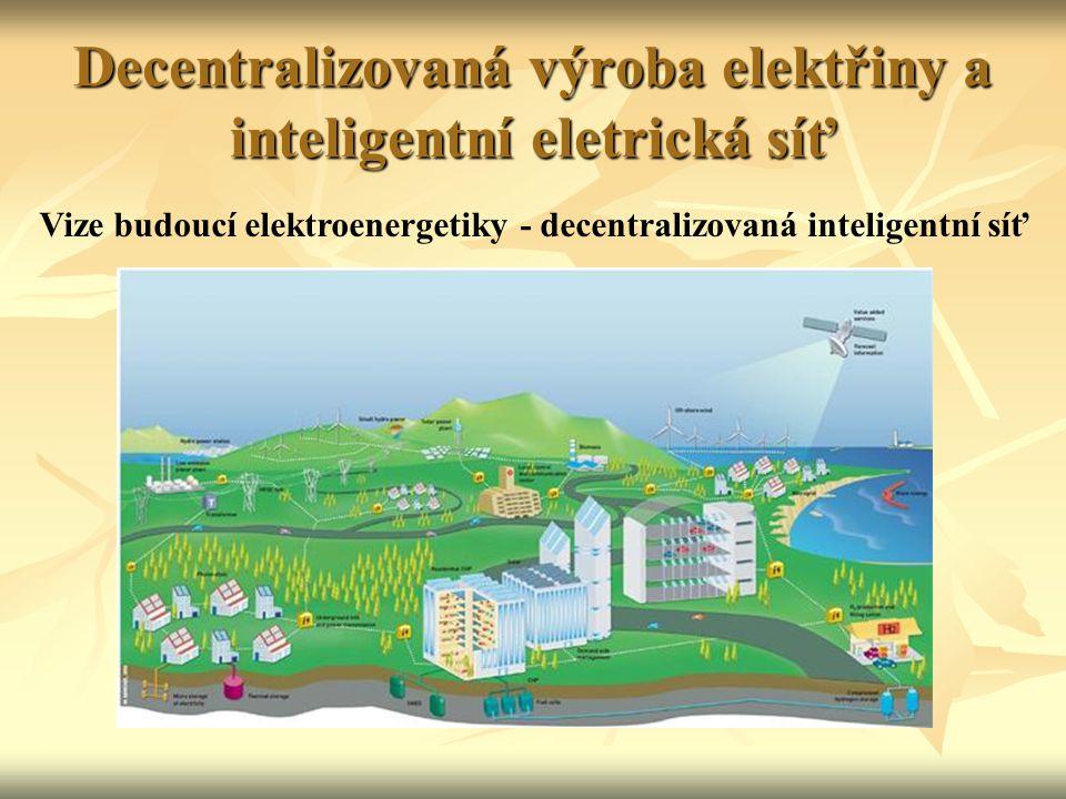 Decentralizovaná výroba elektřiny a inteligentní eletrická síť