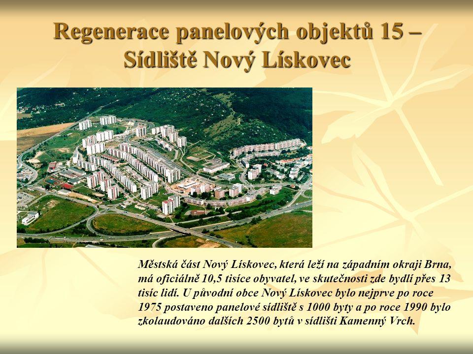 Regenerace panelových objektů 15 – Sídliště Nový Lískovec