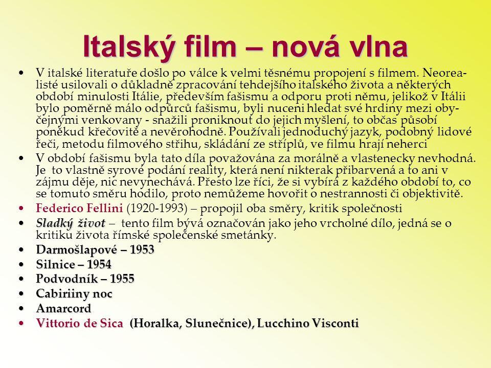 Italský film – nová vlna