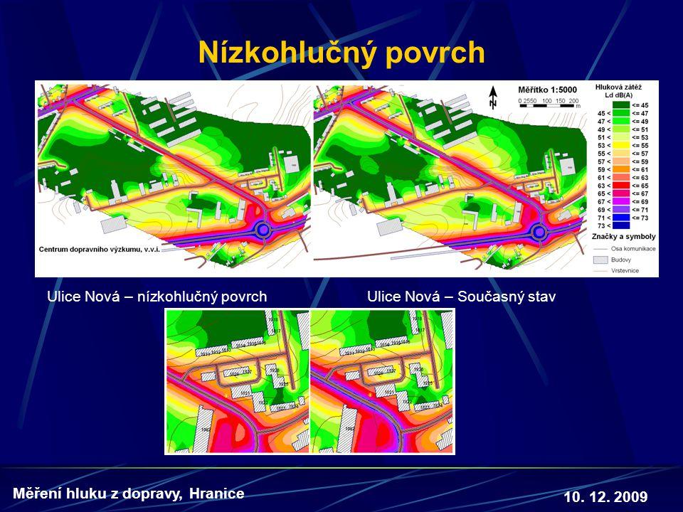 Nízkohlučný povrch Ulice Nová – nízkohlučný povrch Ulice Nová – Současný stav.