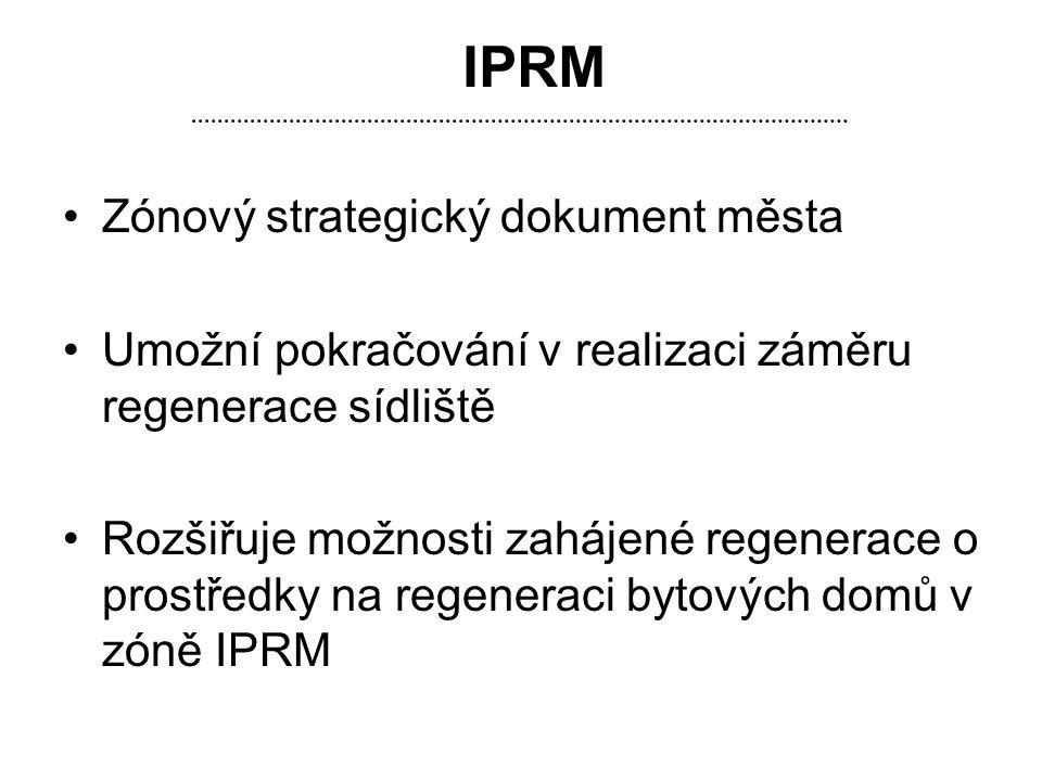 IPRM Zónový strategický dokument města