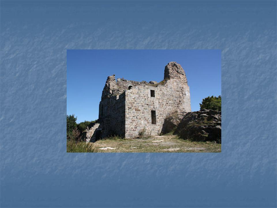 Zbytky románského hradu Přimda