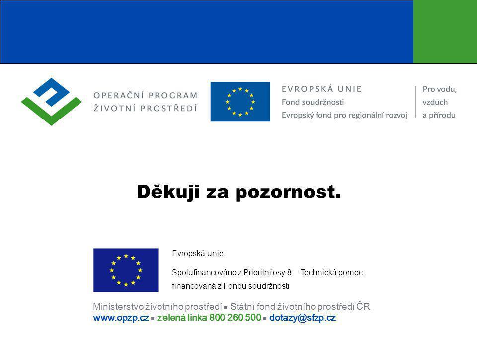 Děkuji za pozornost. Evropská unie