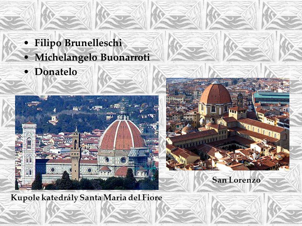 Michelangelo Buonarroti Donatelo