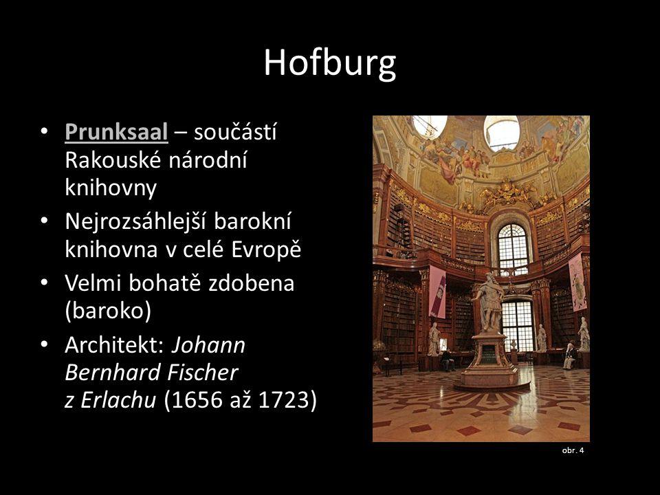 Hofburg Prunksaal – součástí Rakouské národní knihovny