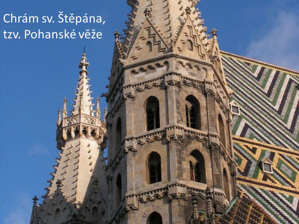 Chrám sv. Štěpána, tzv. Pohanské věže