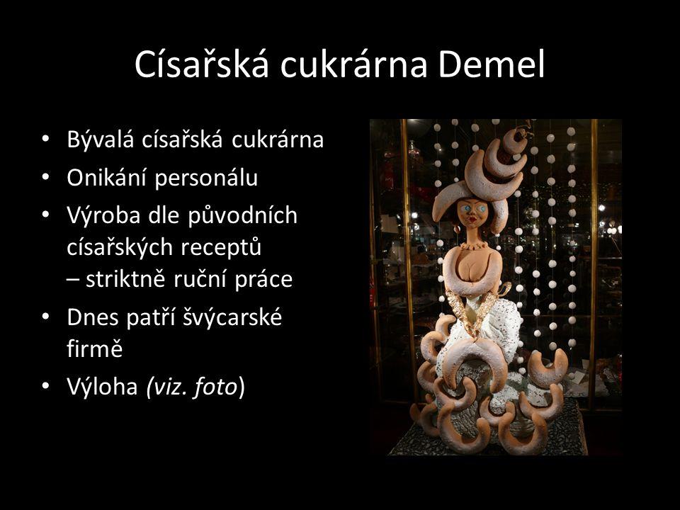 Císařská cukrárna Demel