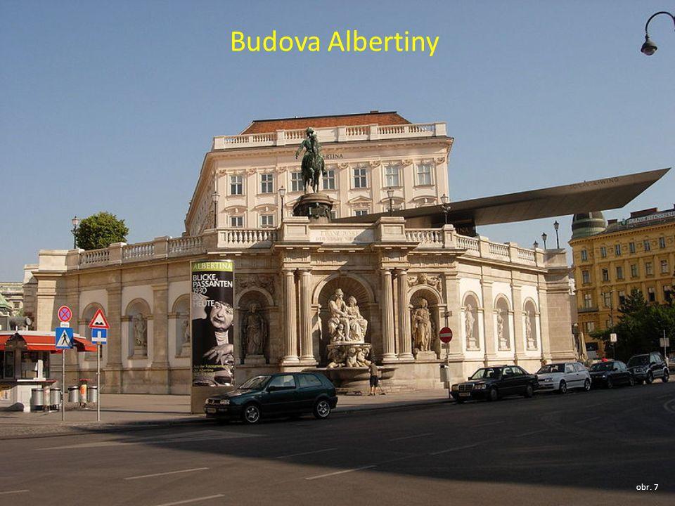 Budova Albertiny obr. 7