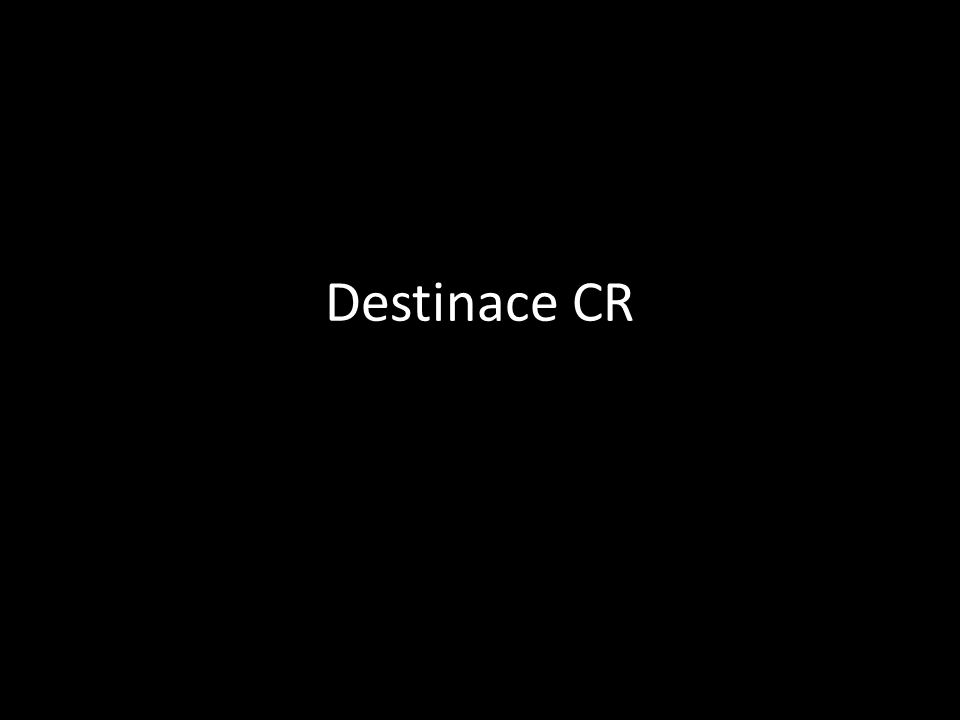 Destinace CR