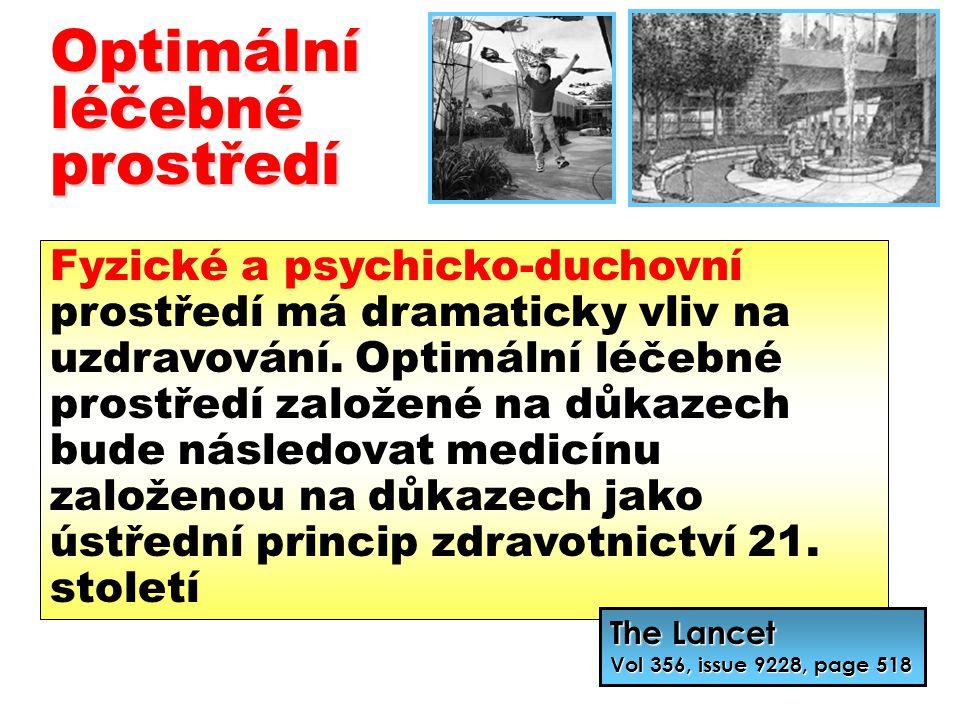 Optimální léčebné prostředí