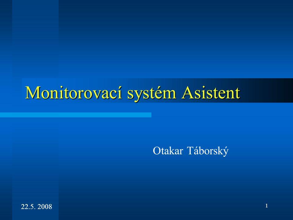 Monitorovací systém Asistent