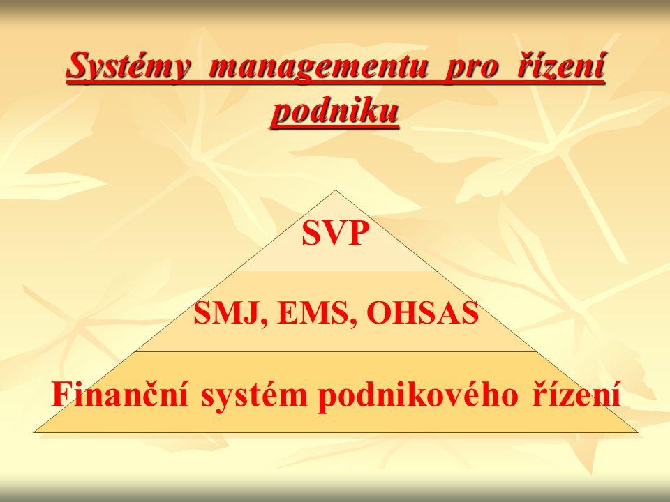 Systémy managementu pro řízení podniku