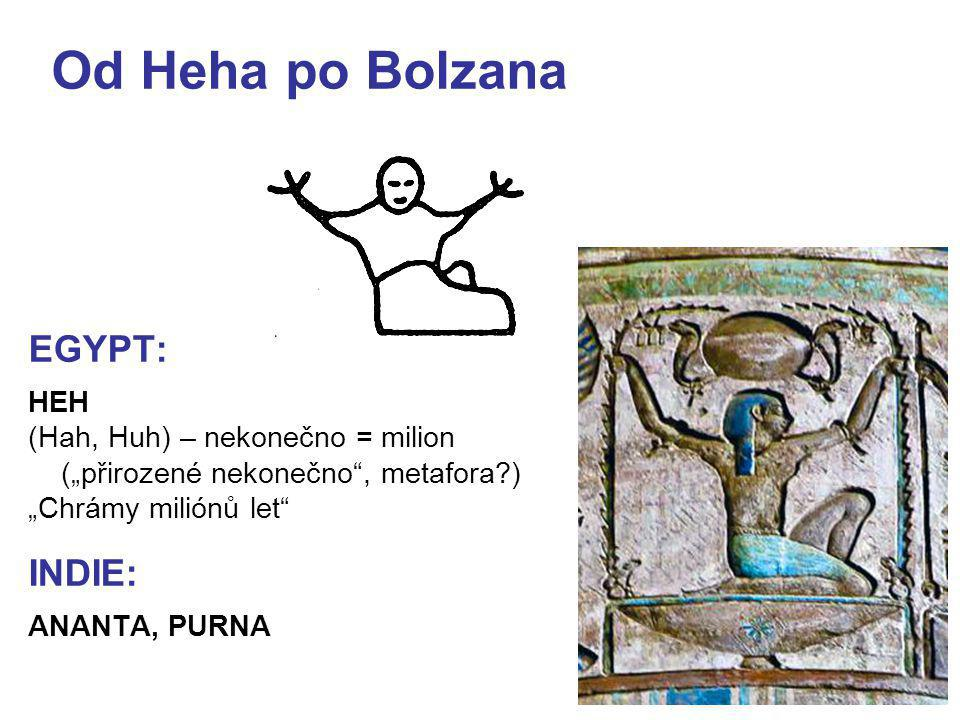 Od Heha po Bolzana EGYPT: INDIE: HEH (Hah, Huh) – nekonečno = milion