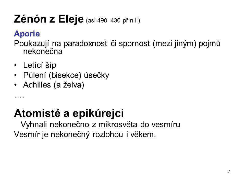 Zénón z Eleje (asi 490–430 př.n.l.)