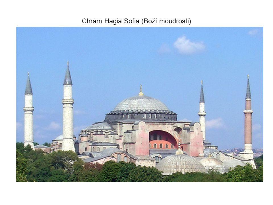 Chrám Hagia Sofia (Boží moudrosti)