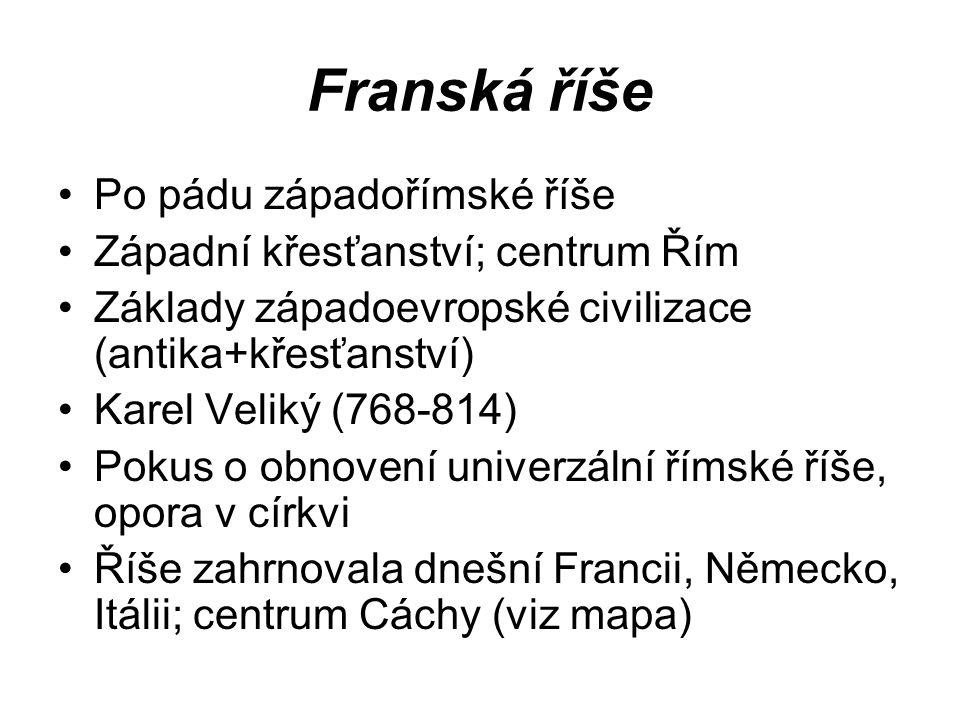 Franská říše Po pádu západořímské říše
