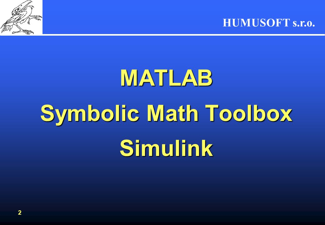 MATLAB Symbolic Math Toolbox Simulink