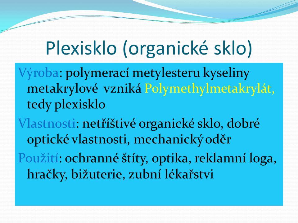Plexisklo (organické sklo)