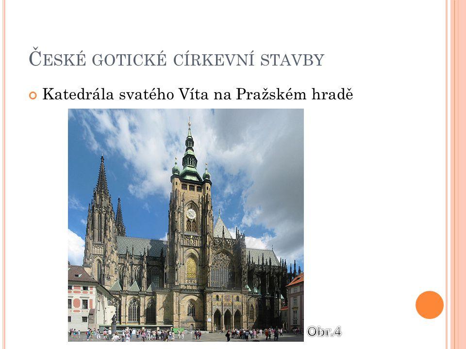České gotické církevní stavby