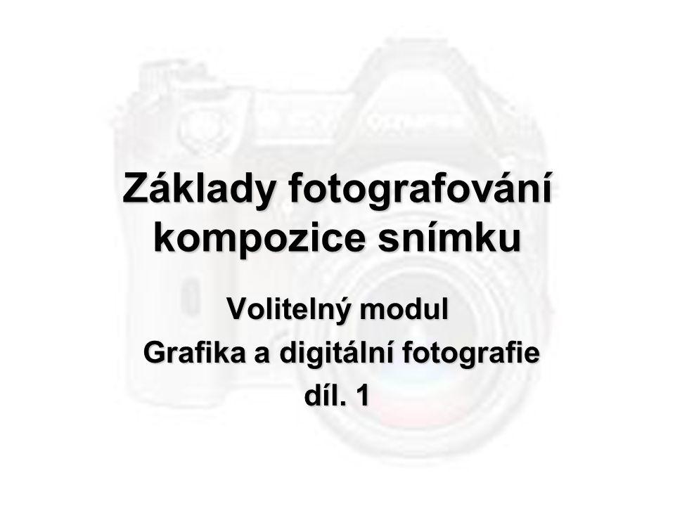 Základy fotografování kompozice snímku