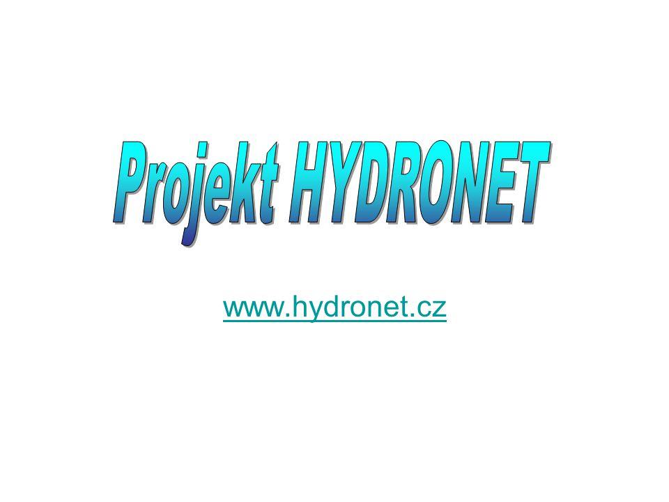 Projekt HYDRONET www.hydronet.cz