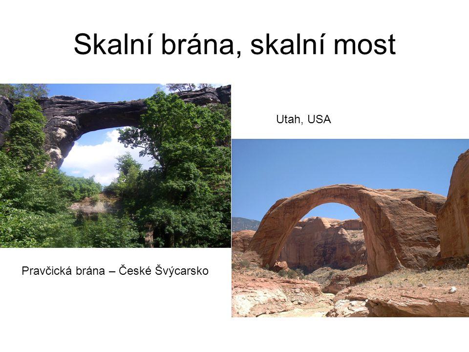 Skalní brána, skalní most