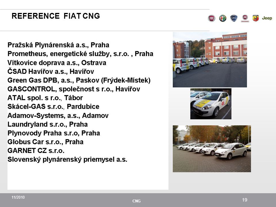 REFERENCE FIAT CNG