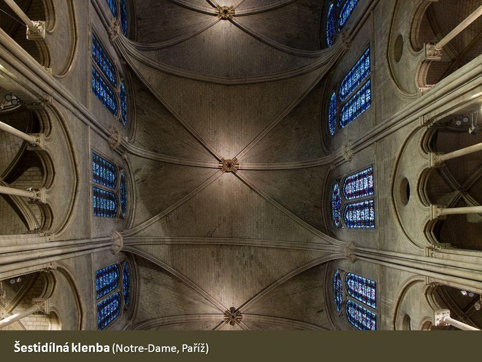 Šestidílná klenba (Notre-Dame, Paříž)