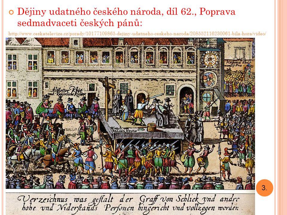 Dějiny udatného českého národa, díl 62