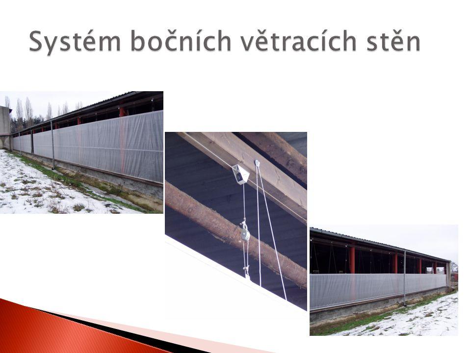 Systém bočních větracích stěn
