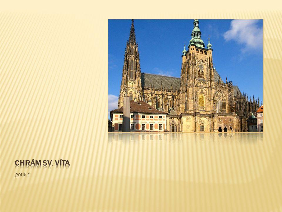 Chrám sv. víta gotika
