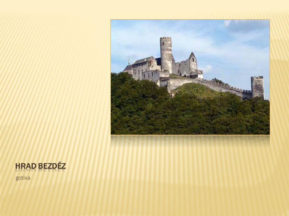 Hrad bezděz gotika