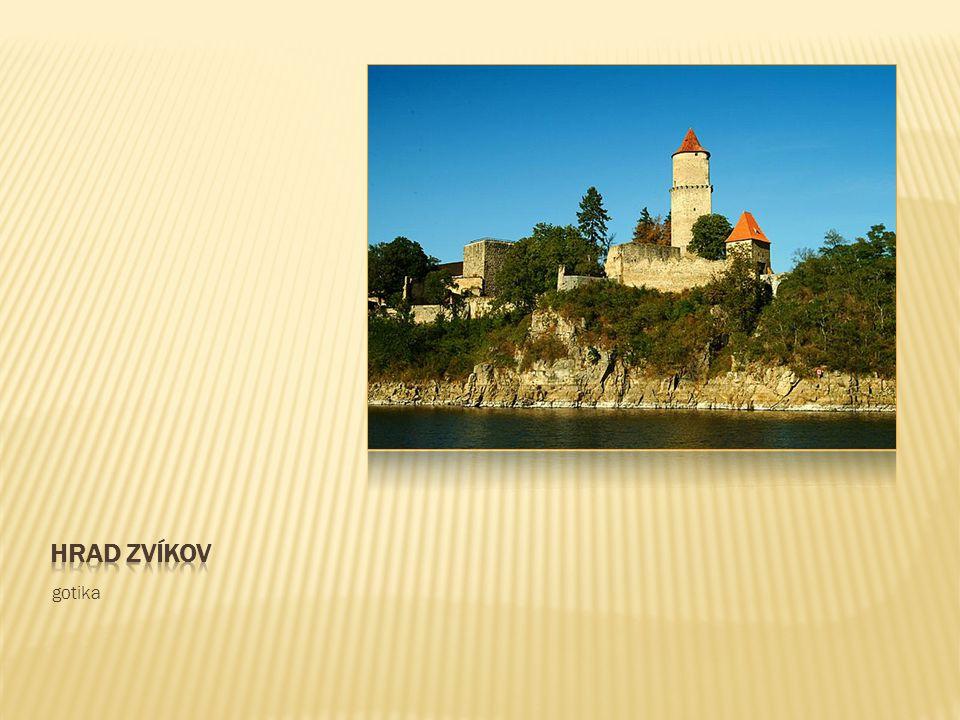 Hrad zvíkov gotika