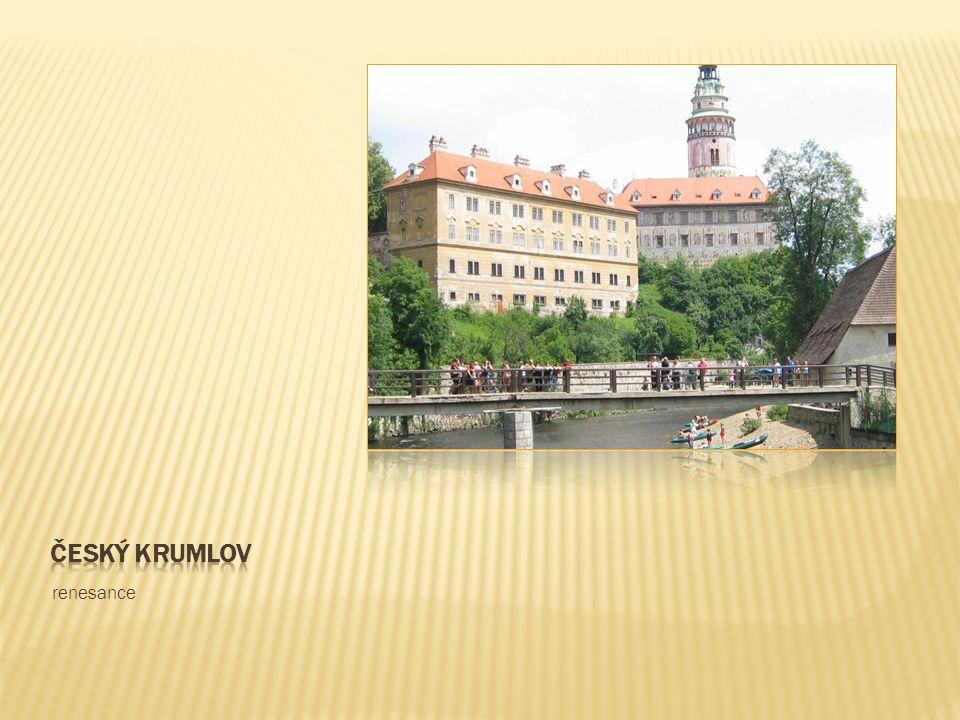 Český krumlov renesance