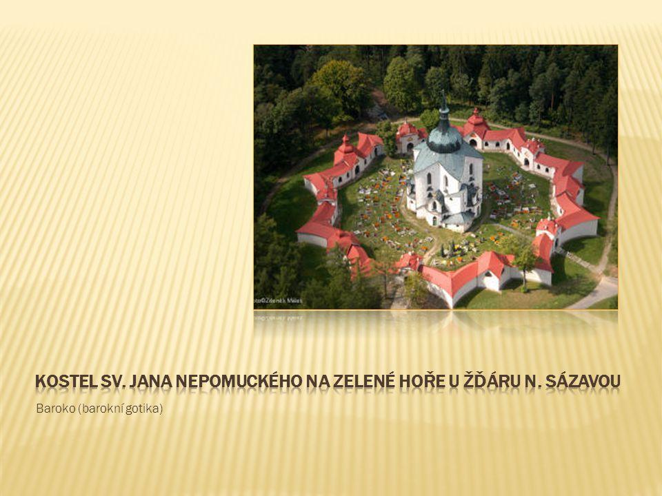 Kostel sv. jana nepomuckého na zelené hoře u žďáru n. sázavou