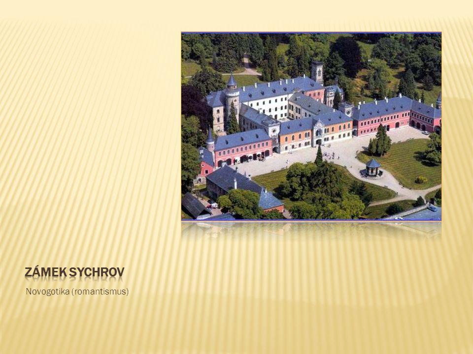 Zámek sychrov Novogotika (romantismus)