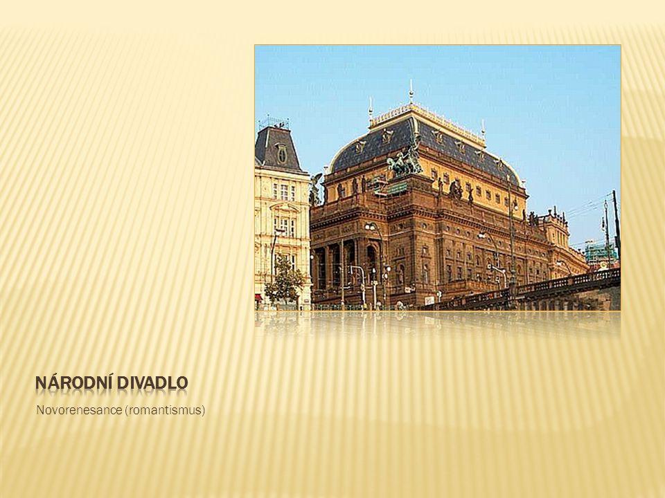 Národní divadlo Novorenesance (romantismus)