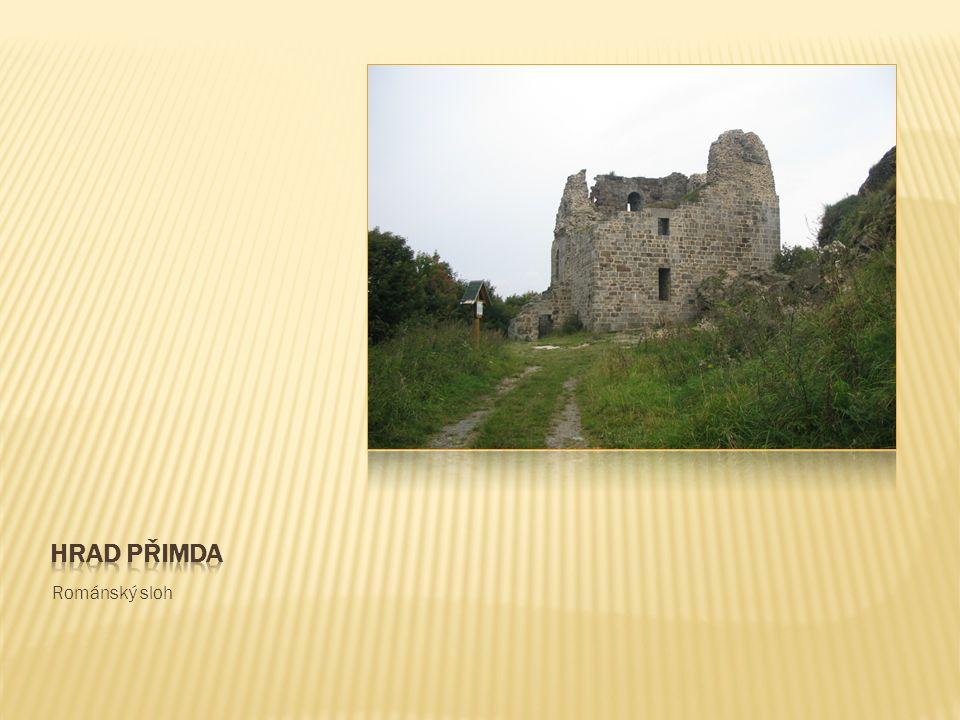 Hrad přimda Románský sloh
