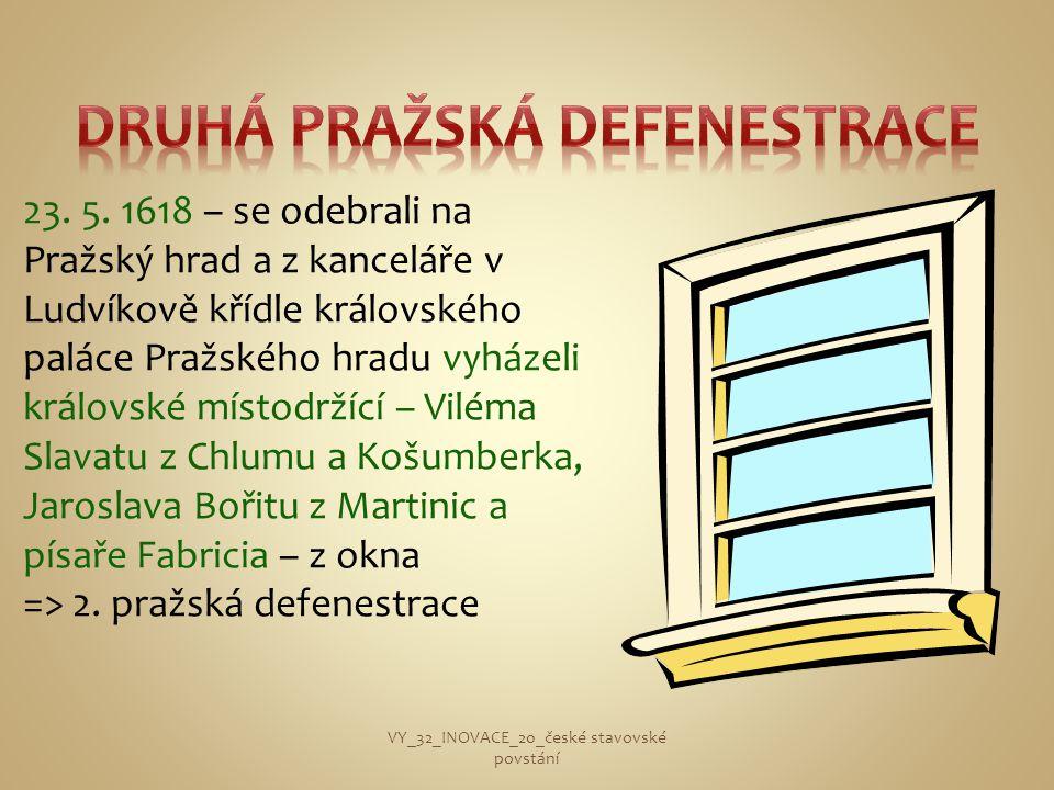 Druhá pražská defenestrace