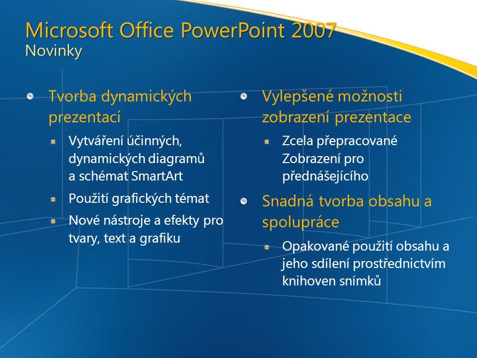 Microsoft Office PowerPoint 2007 Novinky