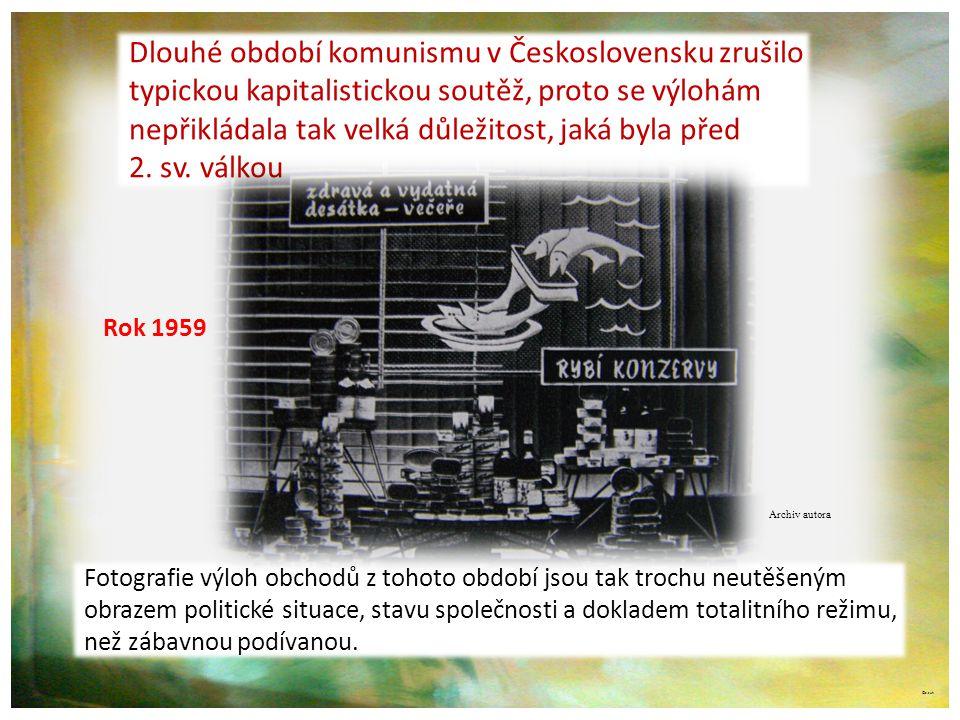 Dlouhé období komunismu v Československu zrušilo
