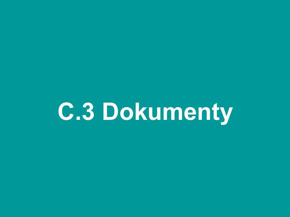 C.3 Dokumenty