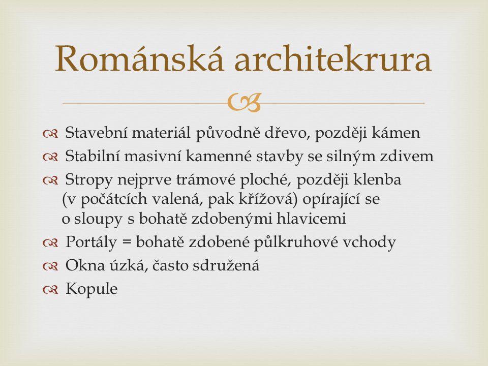 Románská architekrura