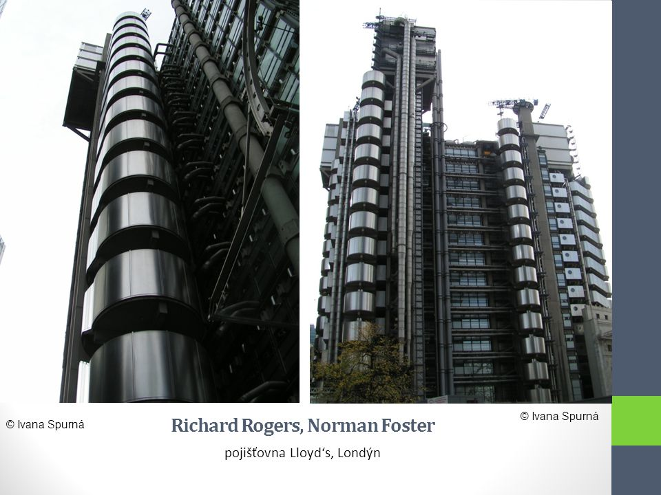 Richard Rogers, Norman Foster