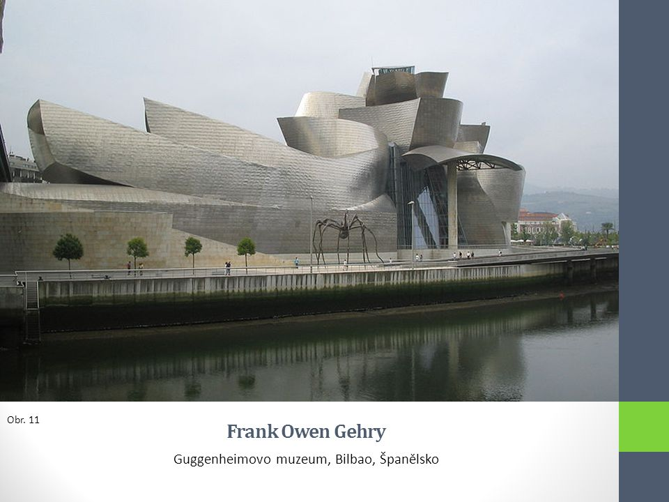 Guggenheimovo muzeum, Bilbao, Španělsko