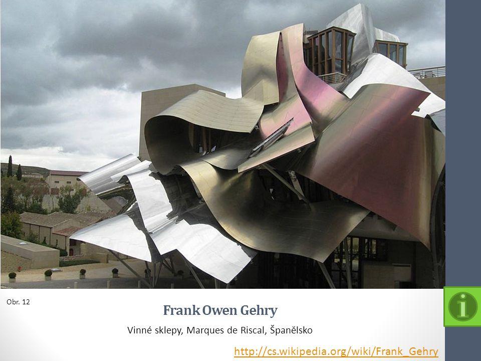 Vinné sklepy, Marques de Riscal, Španělsko