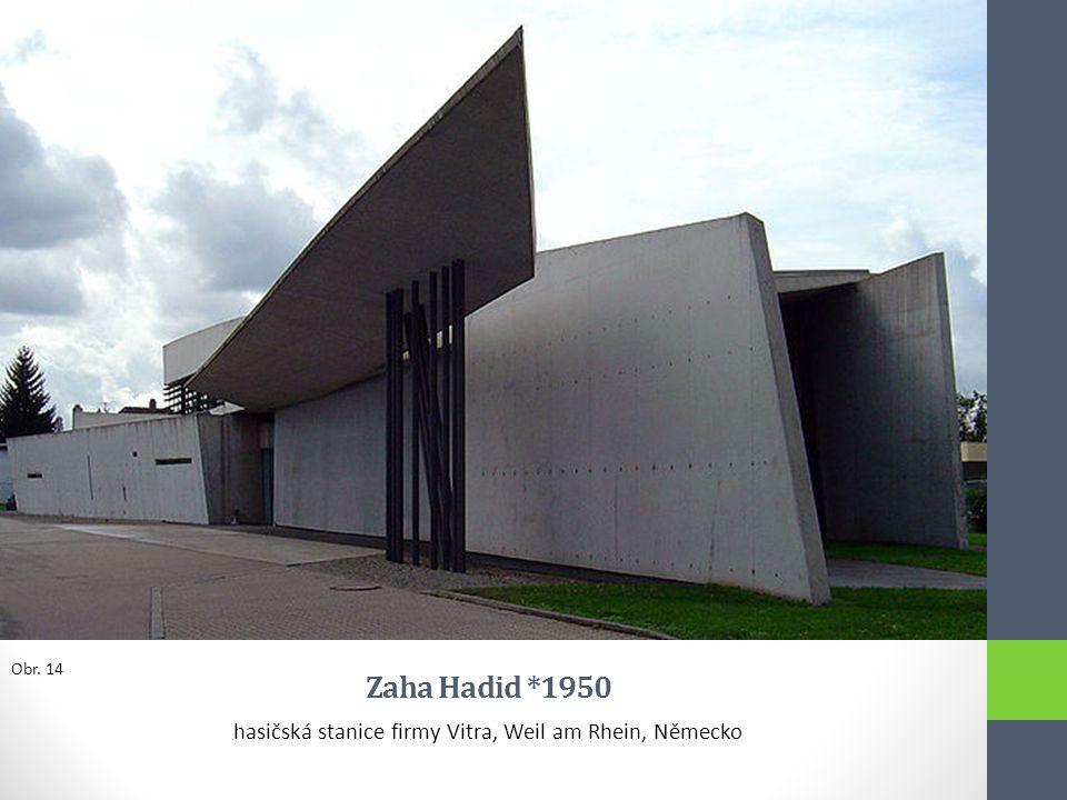 hasičská stanice firmy Vitra, Weil am Rhein, Německo