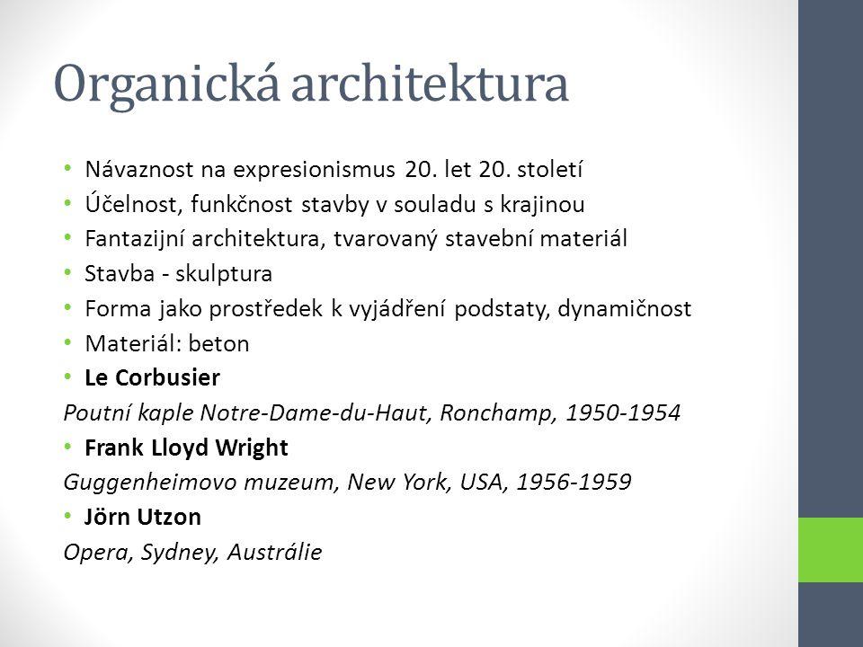 Organická architektura
