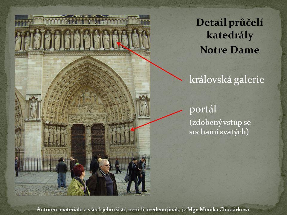 Detail průčelí katedrály