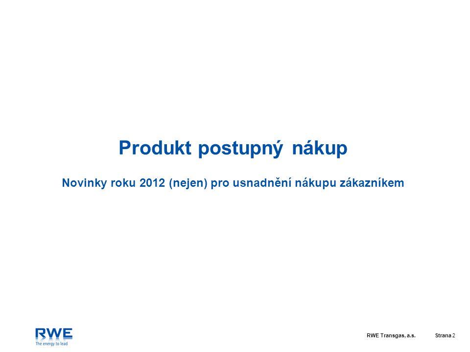 Produkt postupný nákup